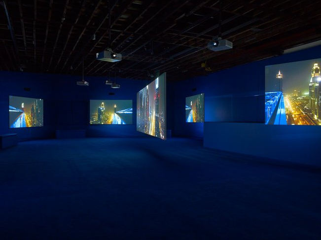Isaac Julien, PLAYTIME, 2014, Seven-screen HD video installation