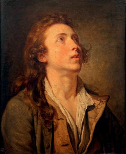 "Jean-Baptiste Greuze, ""Portrait of a Boy,"" oil on canvas, 56.5 x 46.5 cm Estimate: 120,000 - 150,000 Euro Sold for €620,000 on 7th of April 2014, Lot 17"