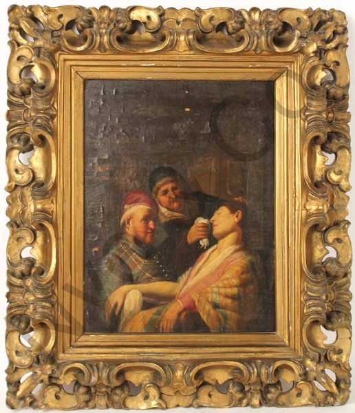 Triple Portrait with Lady Fainting sold at Nye & Co for $870,000
