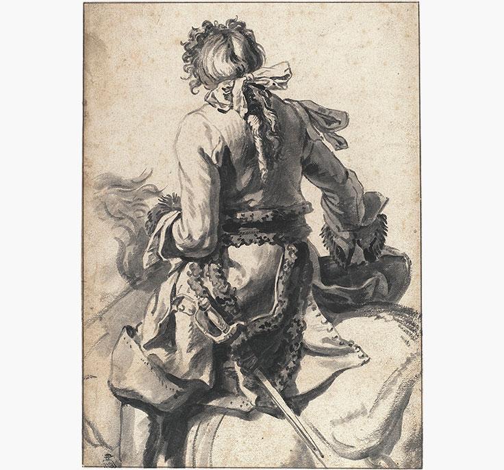 pieter-van-bloemen-called-standaart-antwerp-a-mounted-cavalier-seen-from-behind