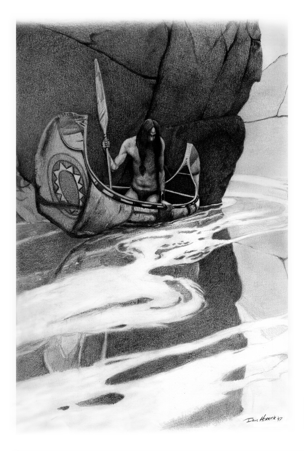 'In the Crystal Depths' - Homage to NC Wyeth