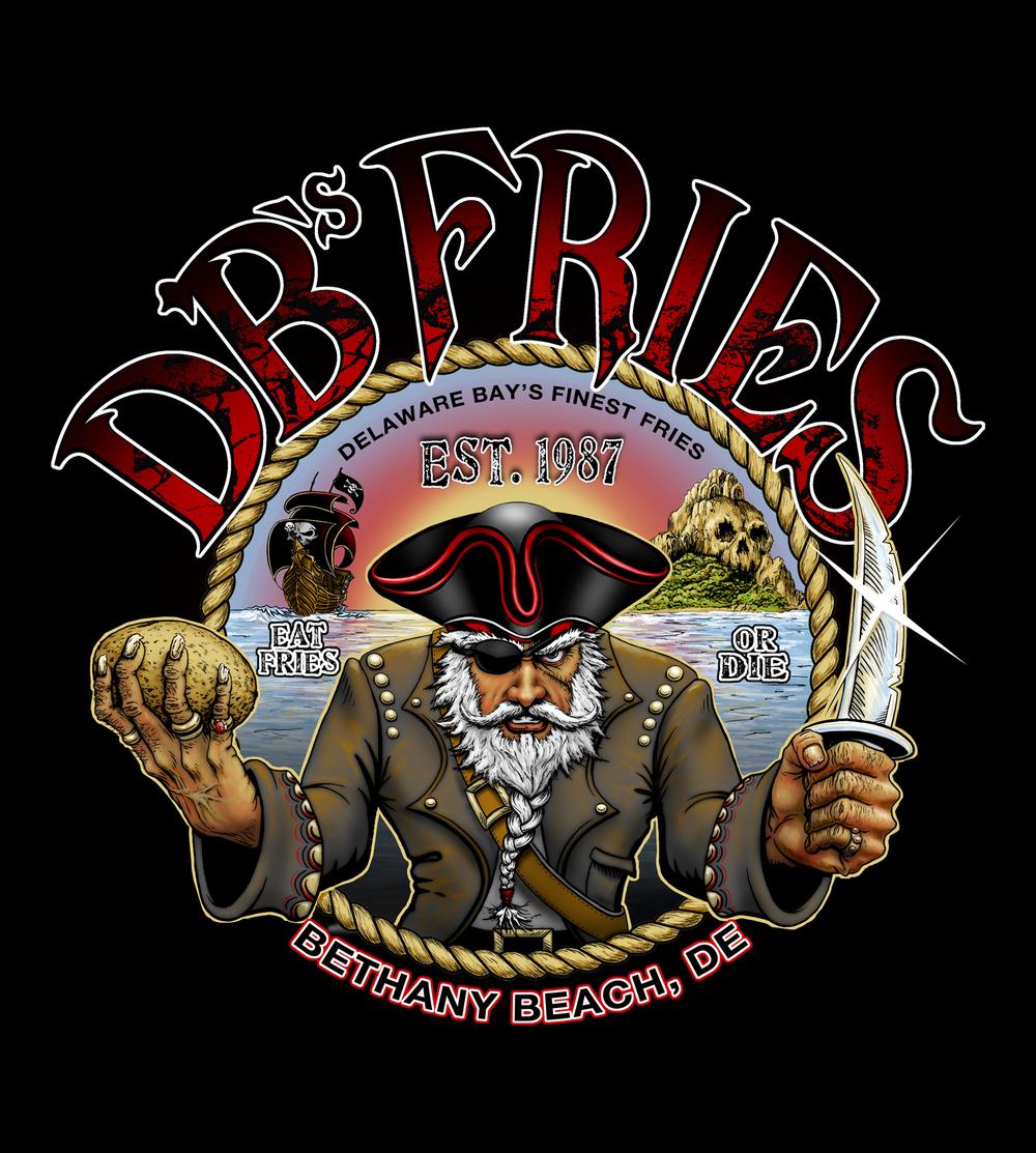 DB Fries Pirate