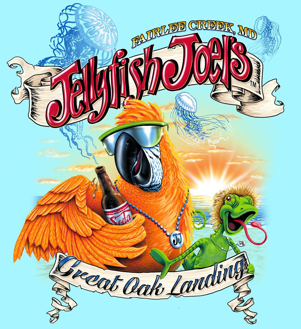 Jellyfish Joel's Parrot