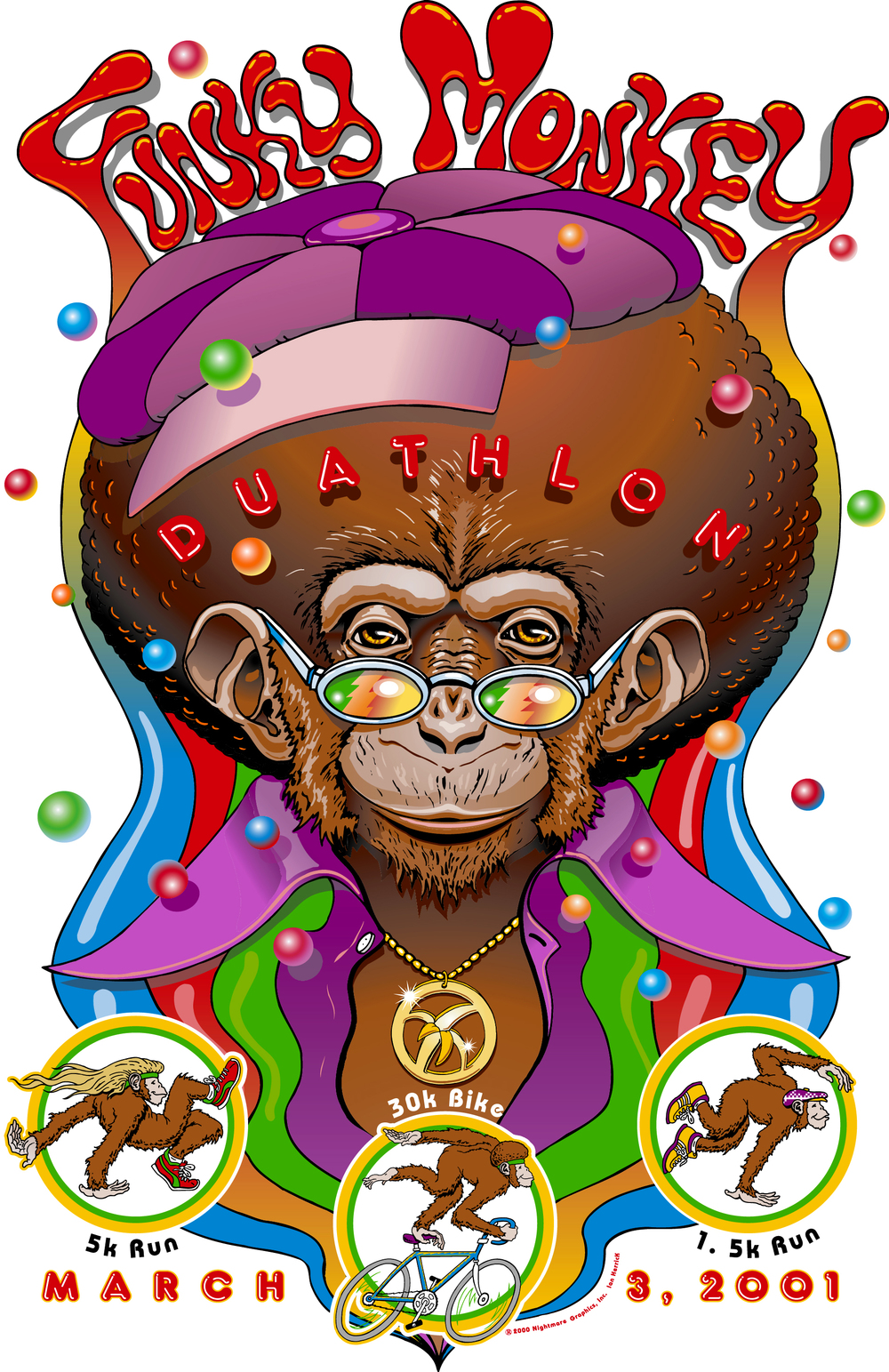 Funky Monkey Duathlon 2001