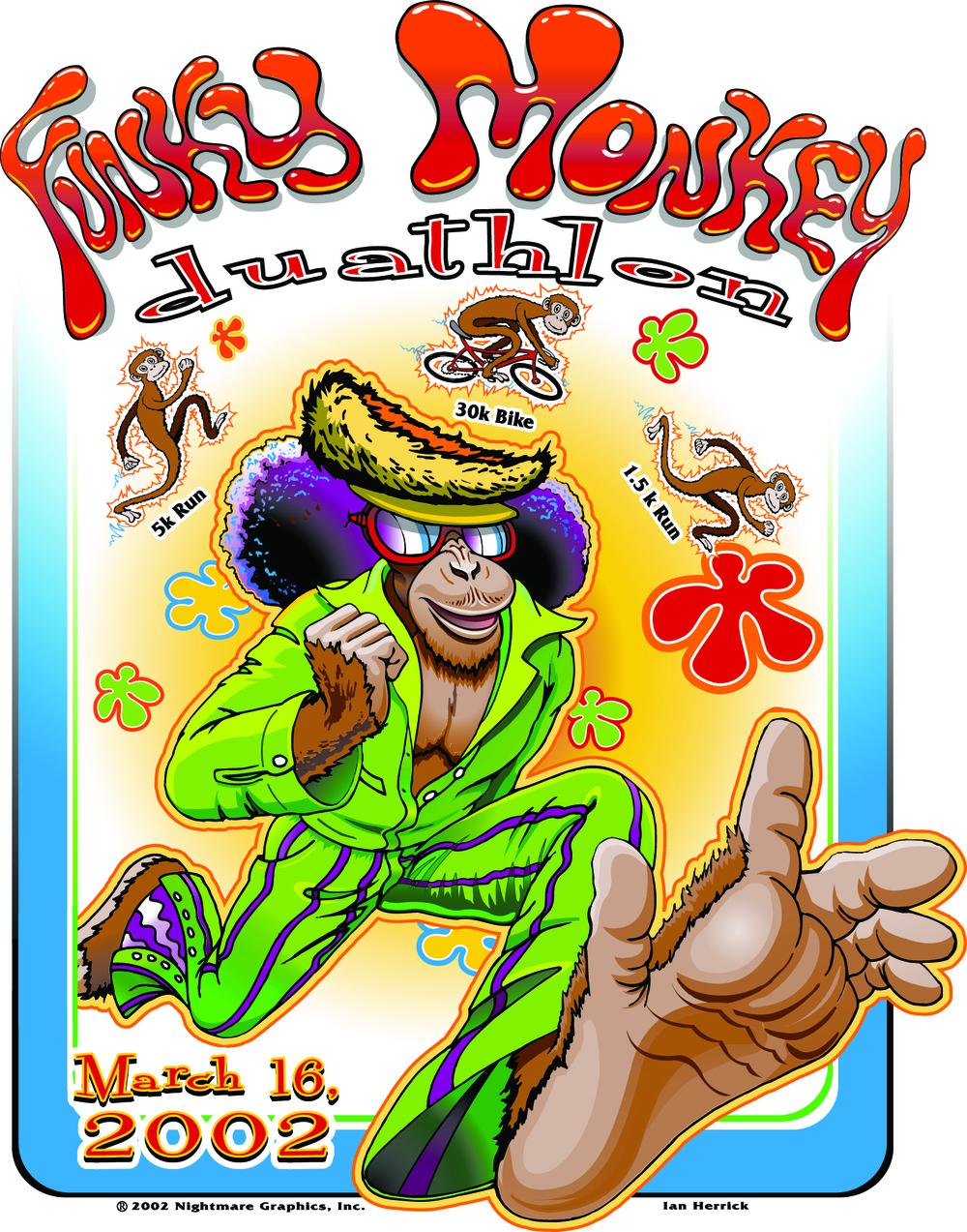 Funky Monkey Duathlon 2002