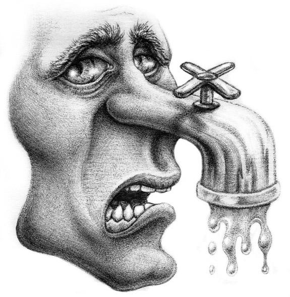 'Face Faucet'