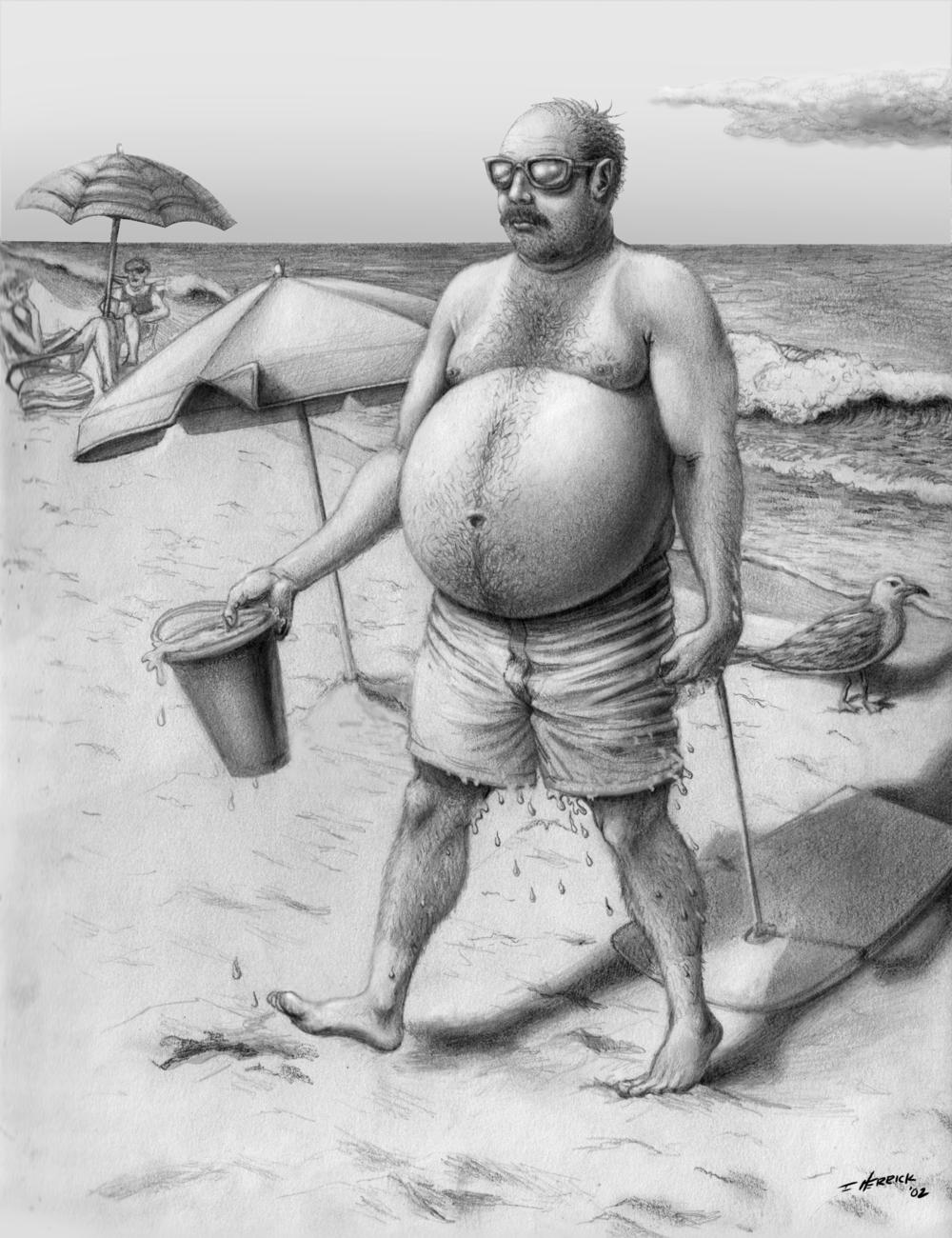'Beach Belly'