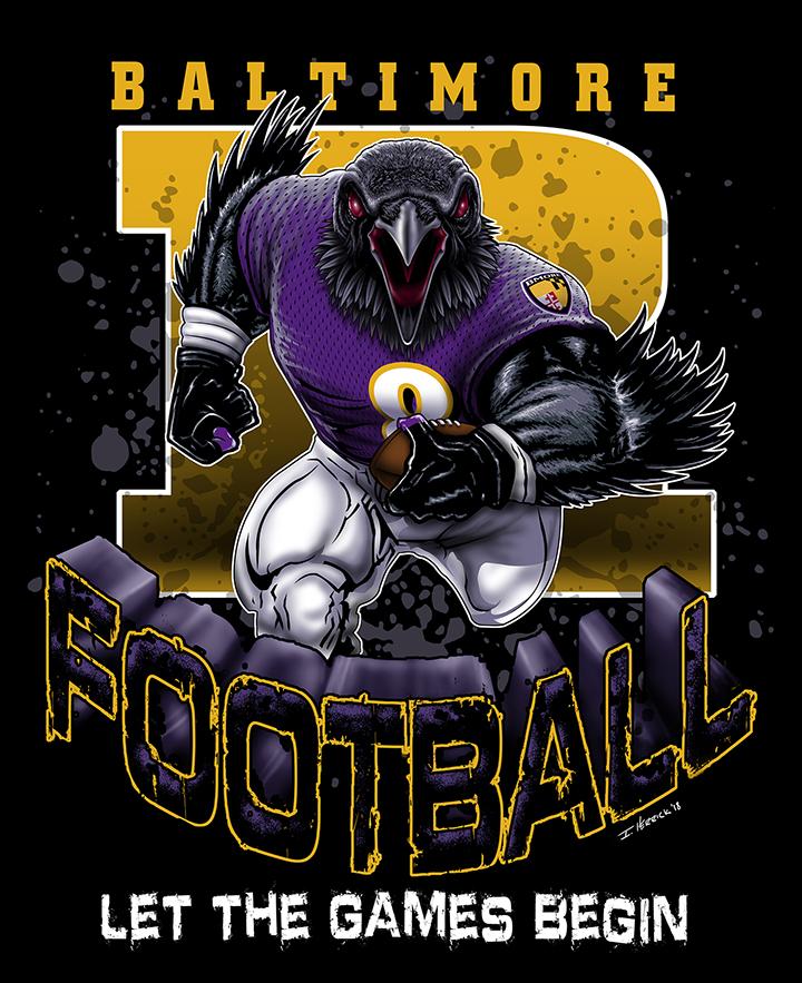 Baltimore -R- Football