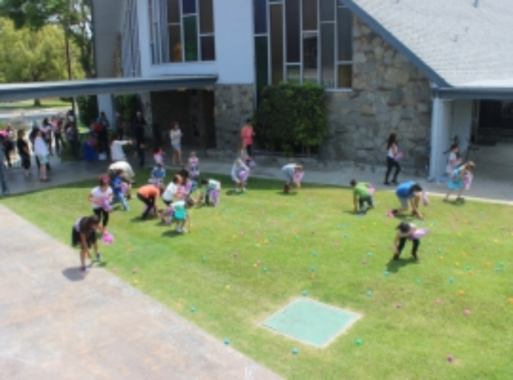 Easter Egg Hunt at our Annual Easter Family Festival