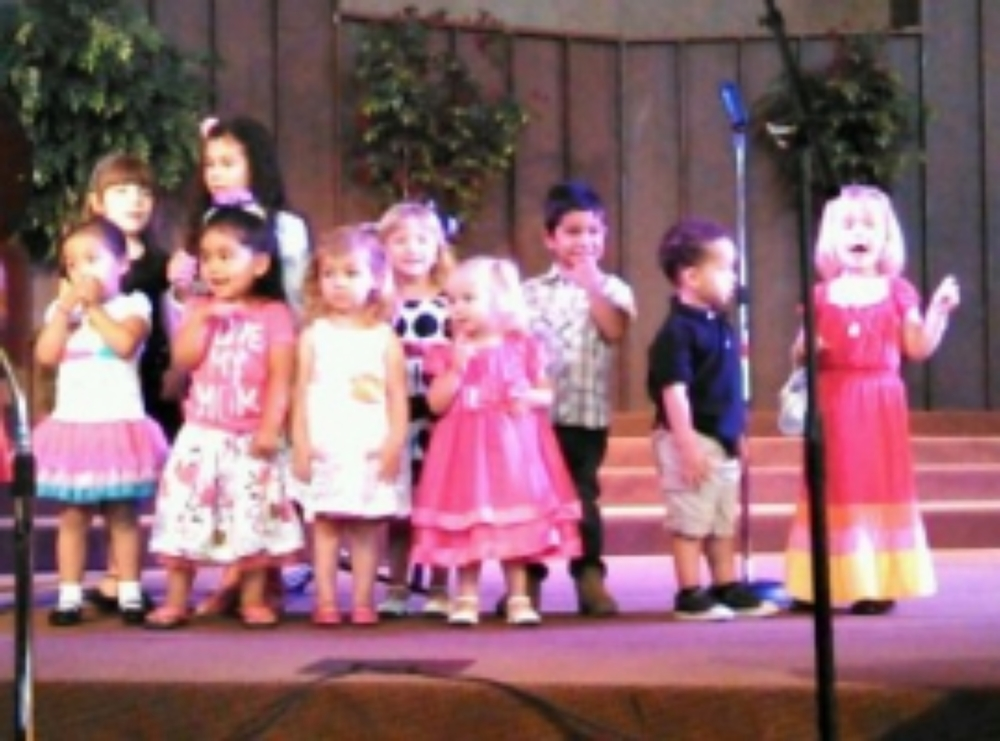 We love it when our children lead us in Worship!