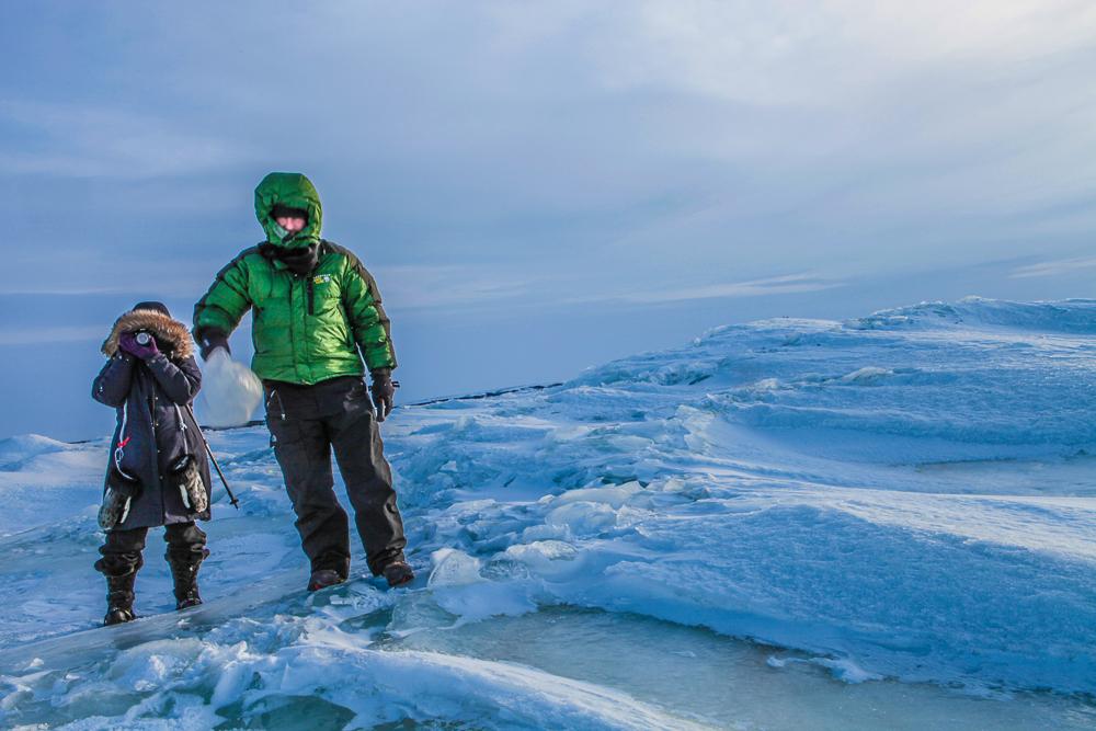 Chukchi Sea Ice Harvesters,  ©  Tama Baldwin