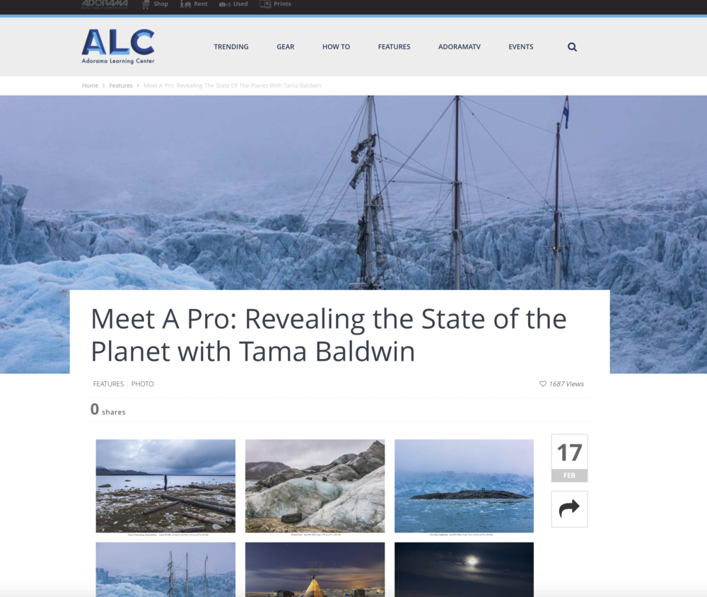 Link to the Adorama article:    https://www.adorama.com/alc/meet-a-pro-tama-baldwin