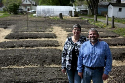 Pam and Mike Roberts, founders of Together We Grow Gardens
