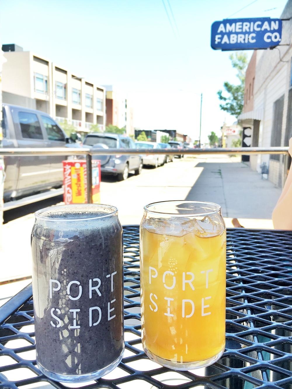 Portside - Kale Smoothie (left)