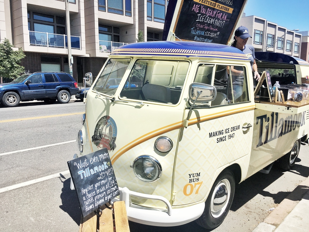 Tillamook Giving Out Free Ice Cream in RiNo