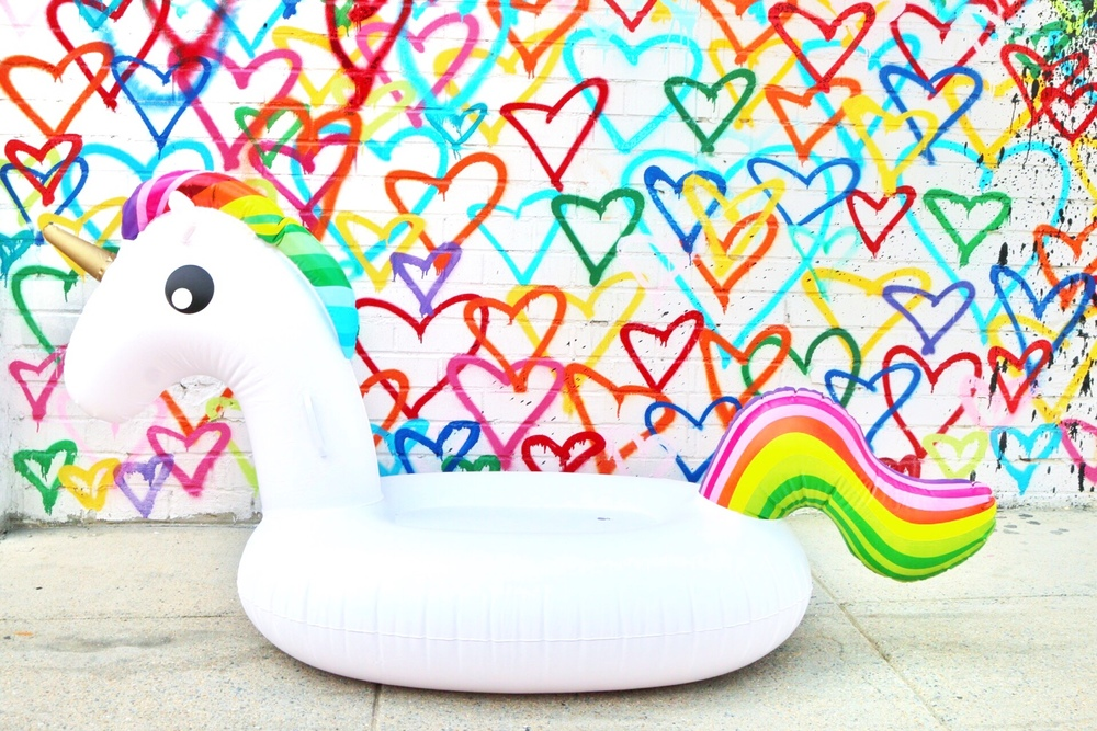 Pool Float  -   Rainbow Unicorn  $49