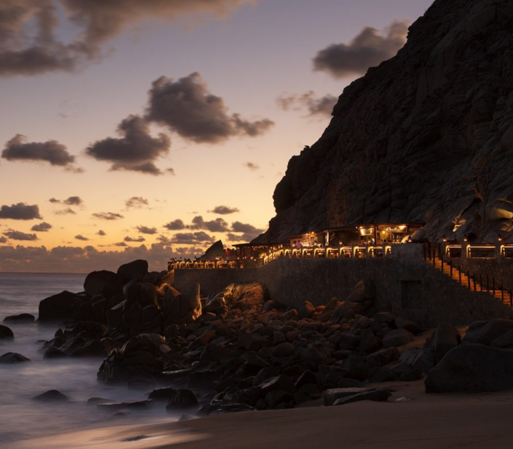 the most romantic restaurant in the world cabo san lucas