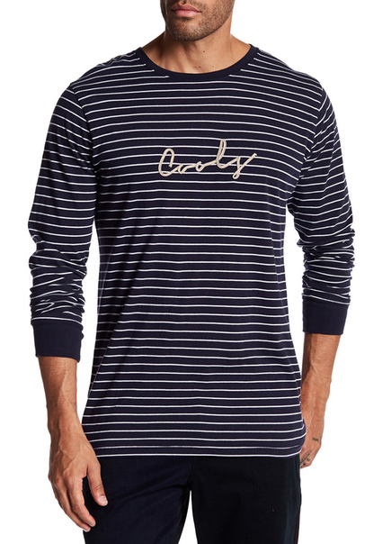 BARNEY COOLS ROPE LOGO RELAXED FIT LONG SLEEVE  $31