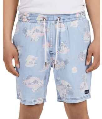 BARNEY COOLS POOLSIDE FLORAL SHORT  $79
