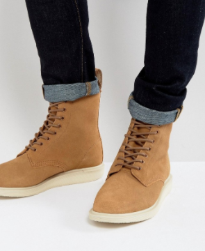 DR. MARTENS WHITON SUEDE BOOT $94