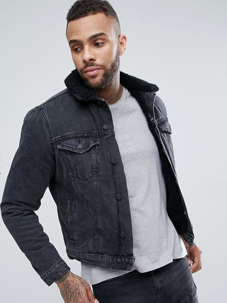 NEW LOOK FLEECE LINED DENIM JACKET  $64.00