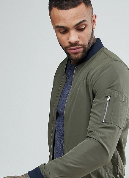 PULL & BEAR BOMBER JACKET  $29.00