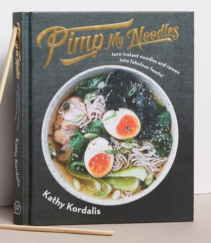PIMP MY NOODLES COOK BOOK  $24.00