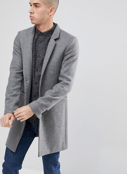ONLY & SONS OVERCOAT  $127