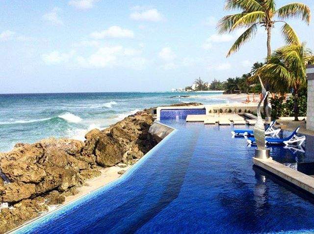 Ending the week with the view of this amazing project we did in Barbados back in 2015 🌴 Have a great weekend everybody as we check out for the weekend #tgif #designerlife #nostalgia #beaches #pool #tropical #relax #photooftheday #blue #island #Barbados #interiordesign