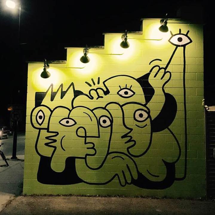 Bonzo Shuk at night