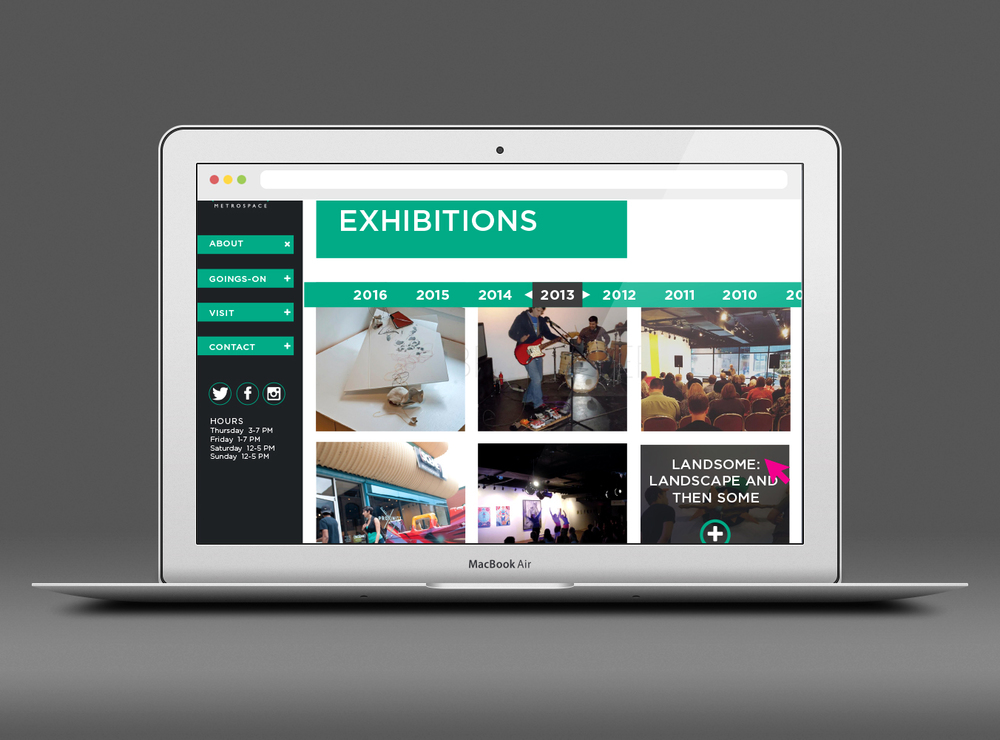 Exhibitions Page