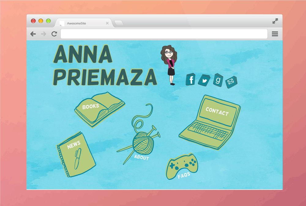 Author Branding - Anna Priemaza