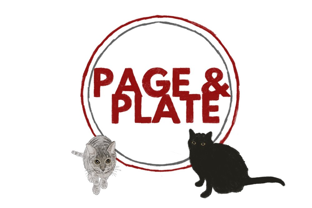 She even redid the logo with my cats! Ah!