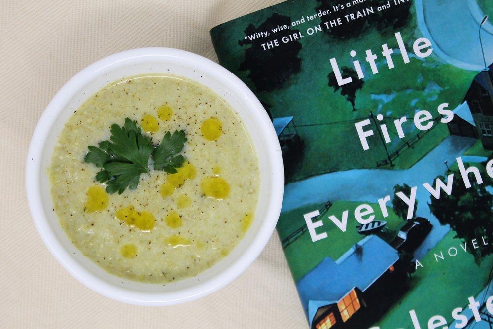 leek green soup and little fires everywhere.jpg