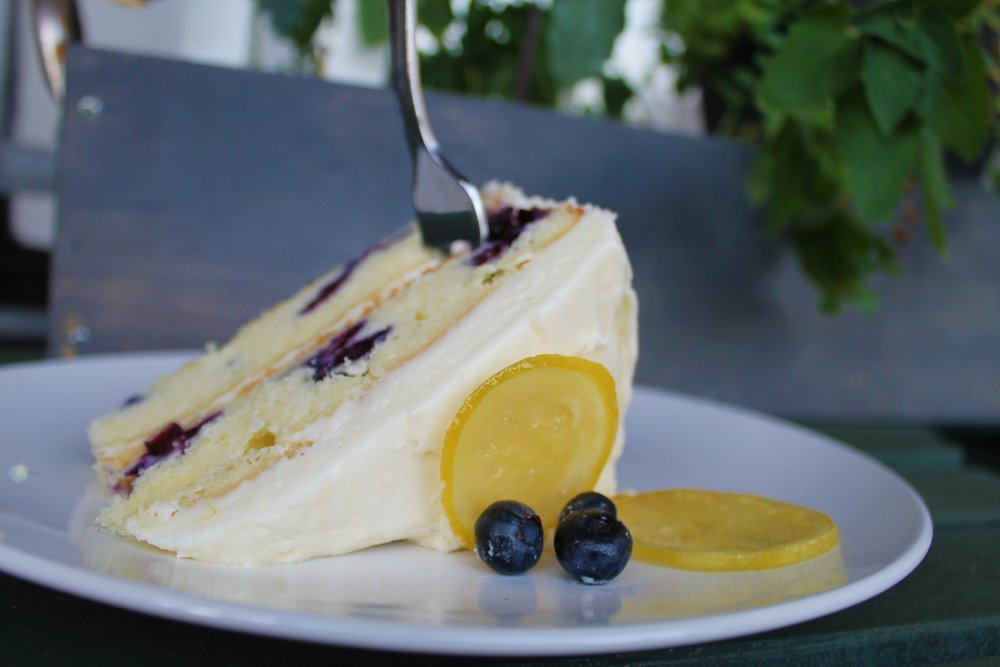 Blueberry Citrus Cake - Possibly the most popular thing I have ever baked.
