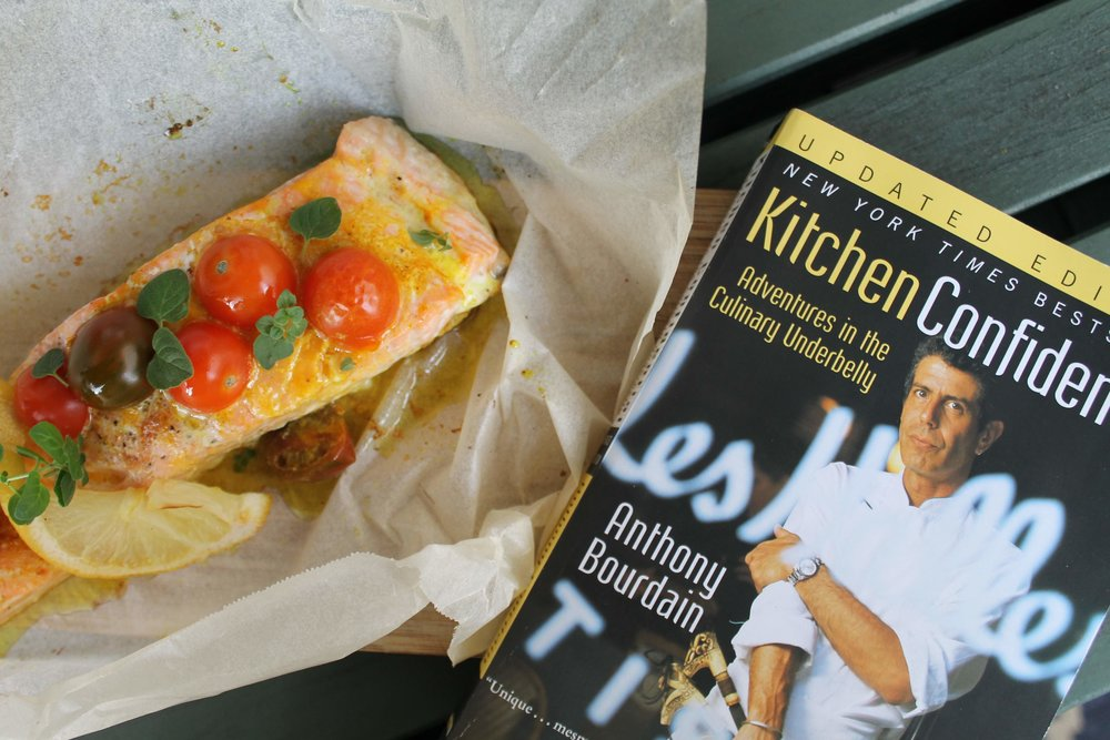 Kitchen Confidential and Sunset Salmon