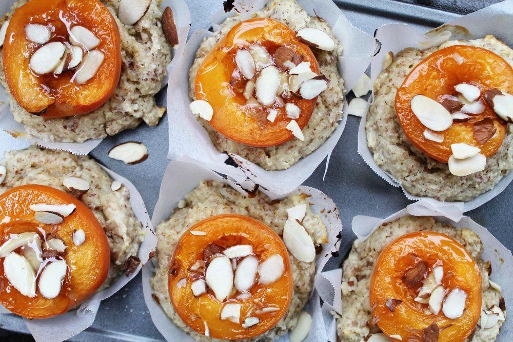 Apricot Almond Muffins - Basically little sun muffins.