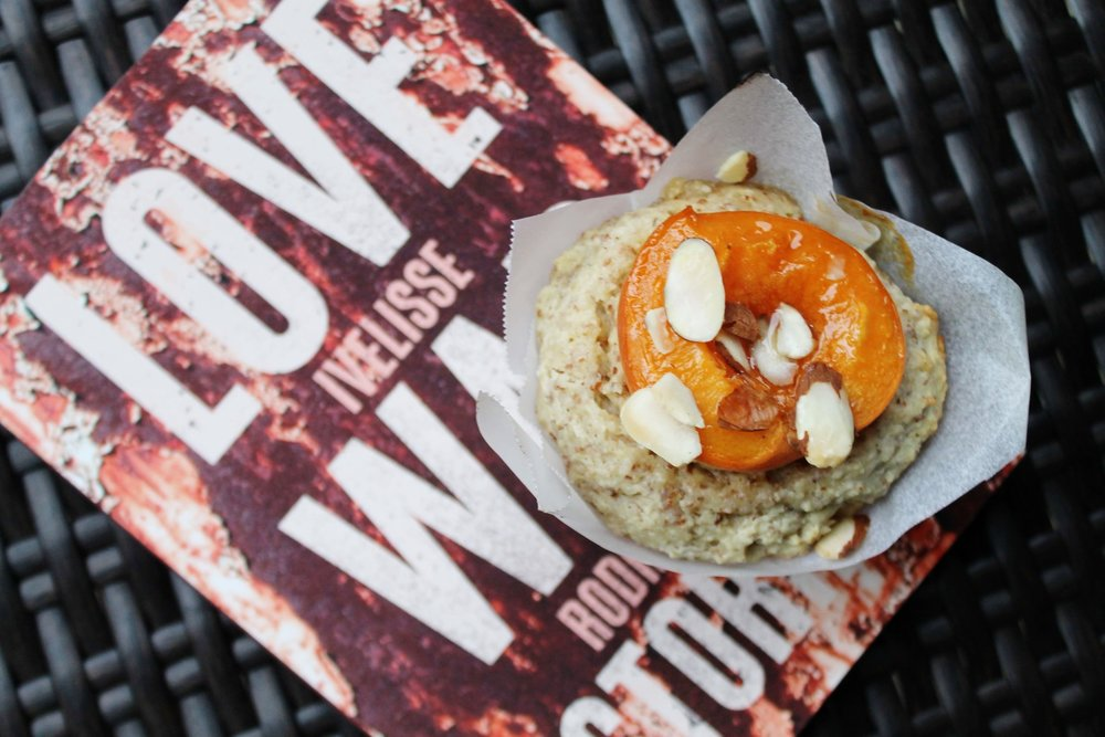 Apricot Almond Muffins and Love War Stories
