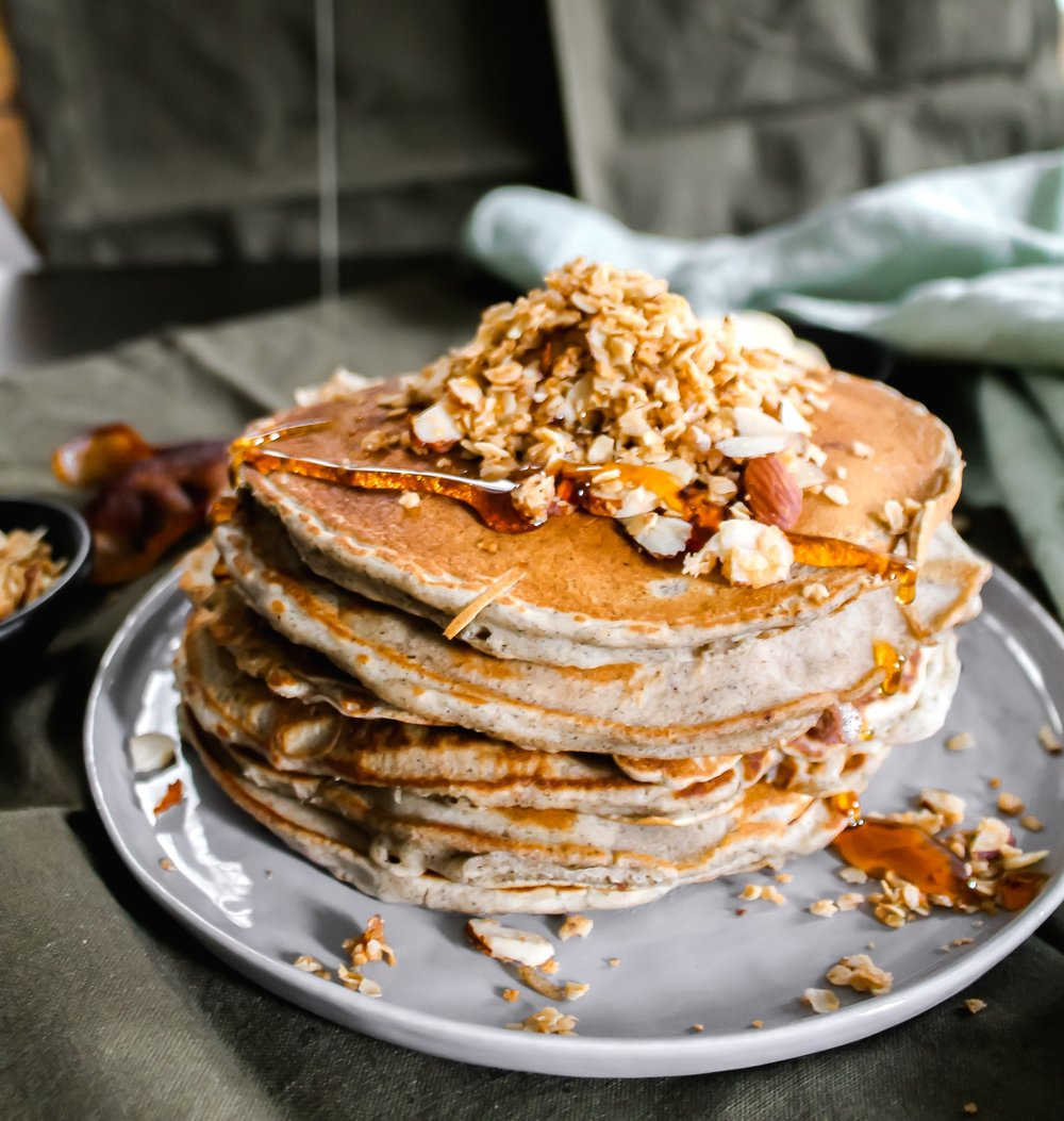 Buckwheat Pancakes - Because breakfast deserves to be thought about.