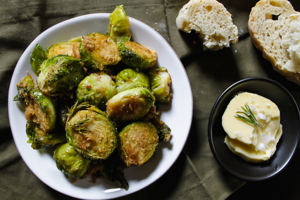 Bacon Fat Brussels Sprouts - This ain't your granny's brussels sprouts recipe.