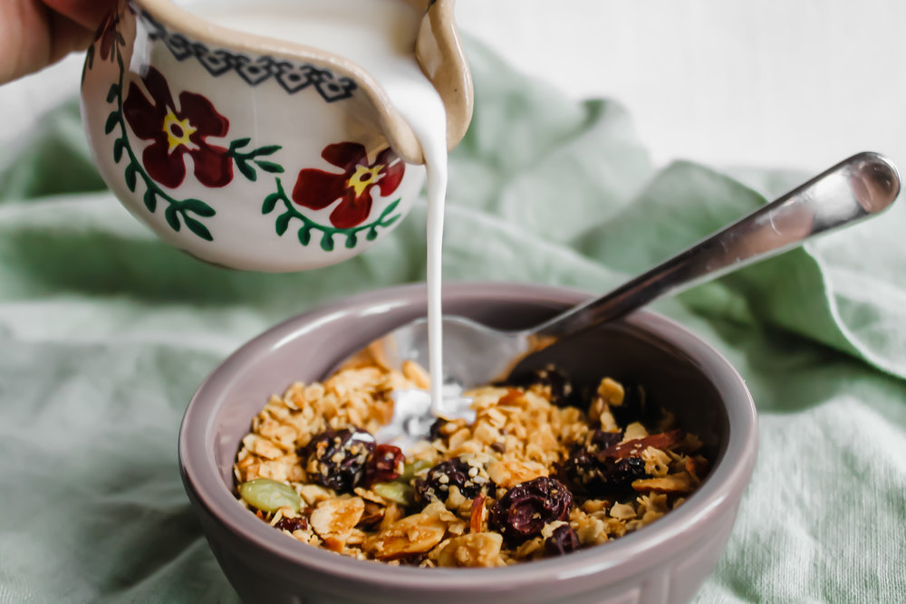 Granola - Because you don't need Honey Bunches of Oats to have a good breakfast.
