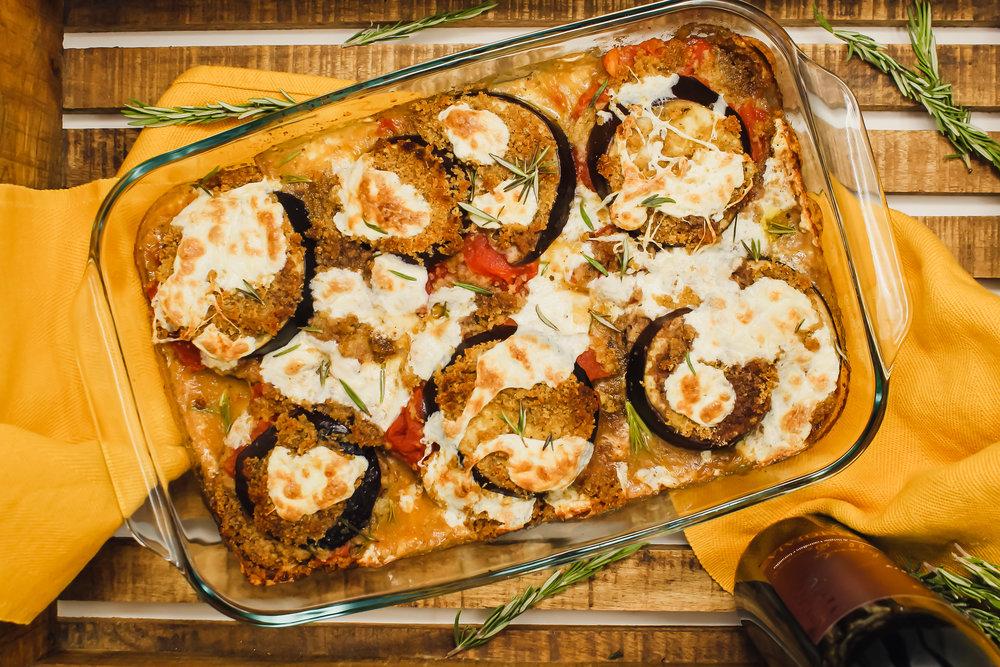 Eggplant Parmesan - The best, no questions.