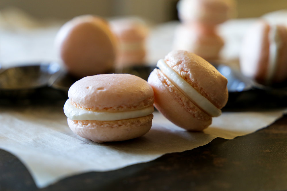 Macarons - A work in progress. Much like...