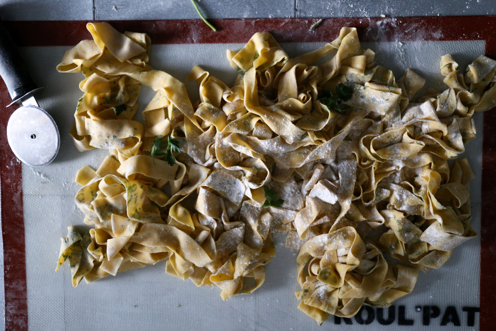 Herbed Pappardelle