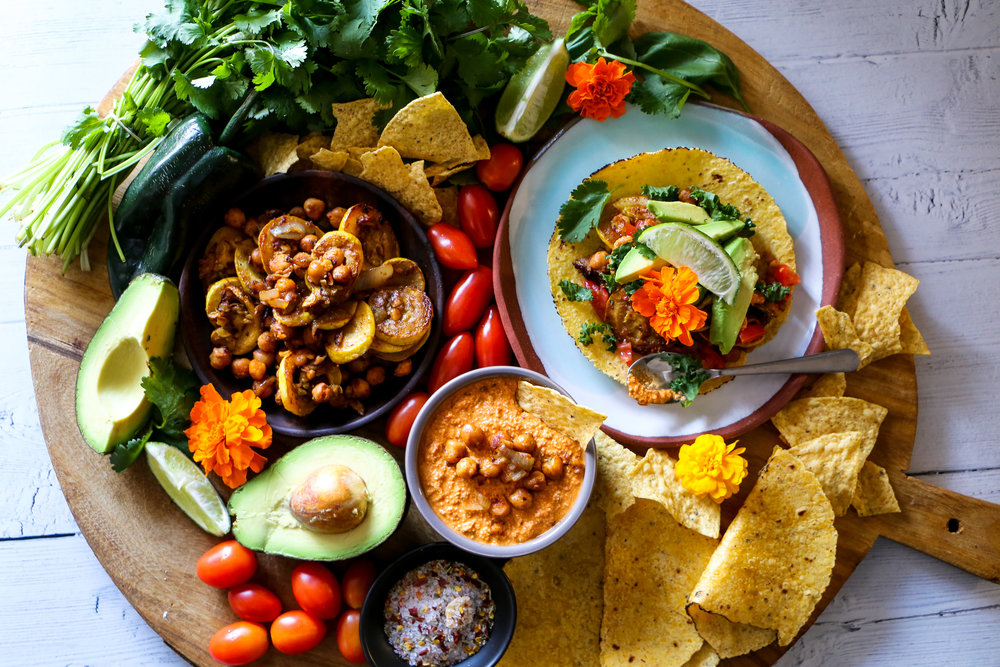 Chipotle Cashew Dip for a Tacocuterie Board