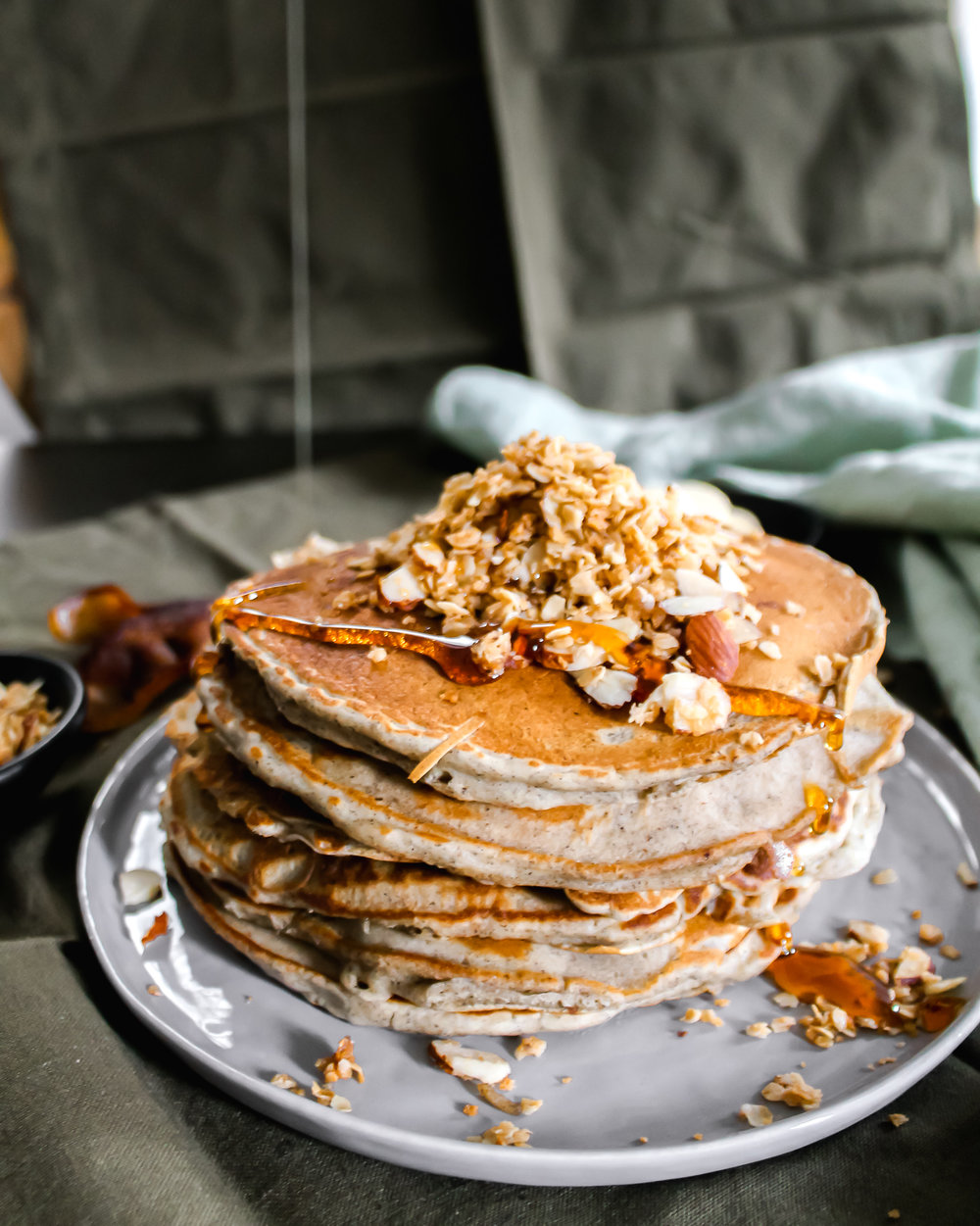 Buckwheat Pancakes - Don't let the buckwheat scare you. These are still crazy delish.