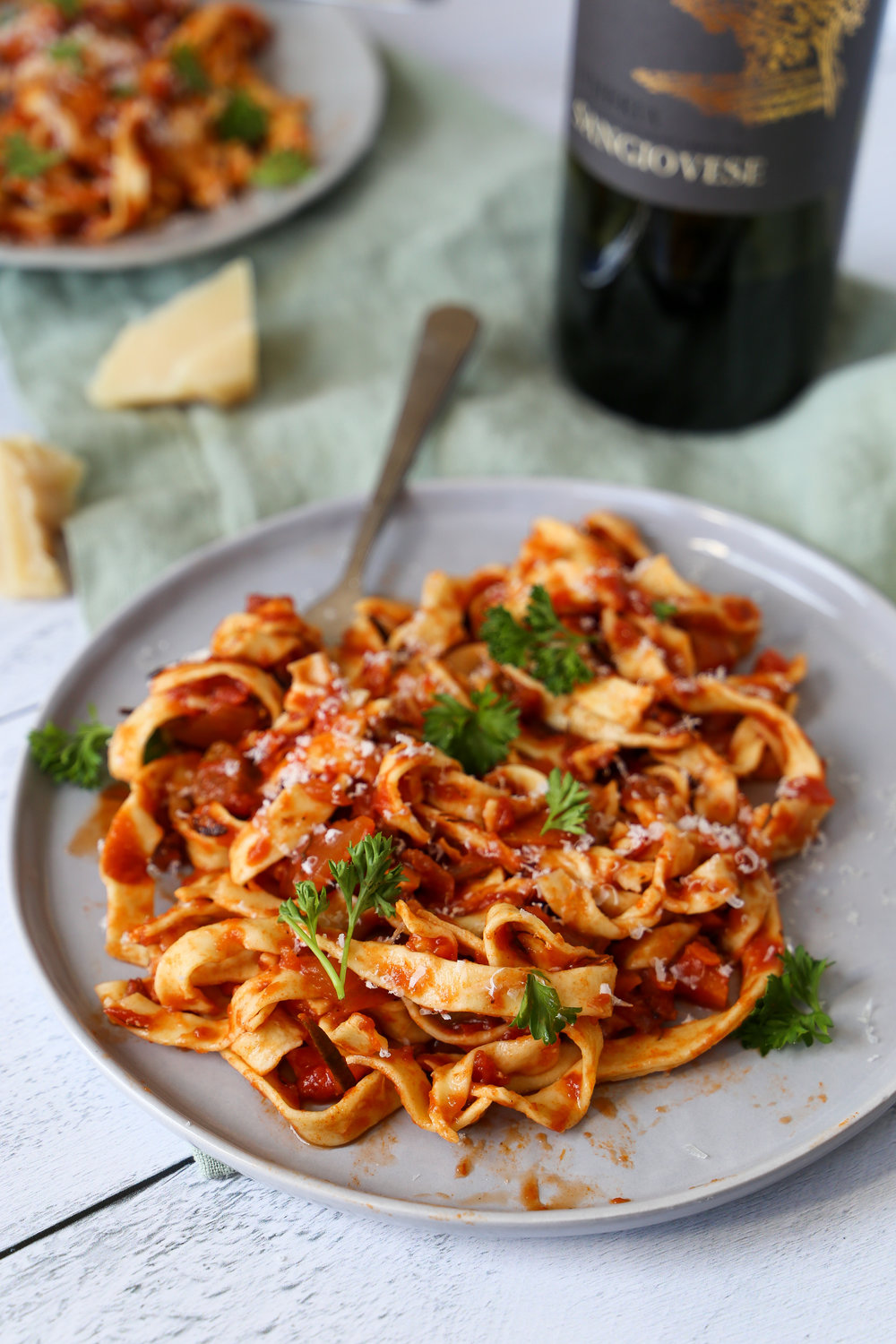 Vegetable Ragu - Because you don't need meat to have fun.