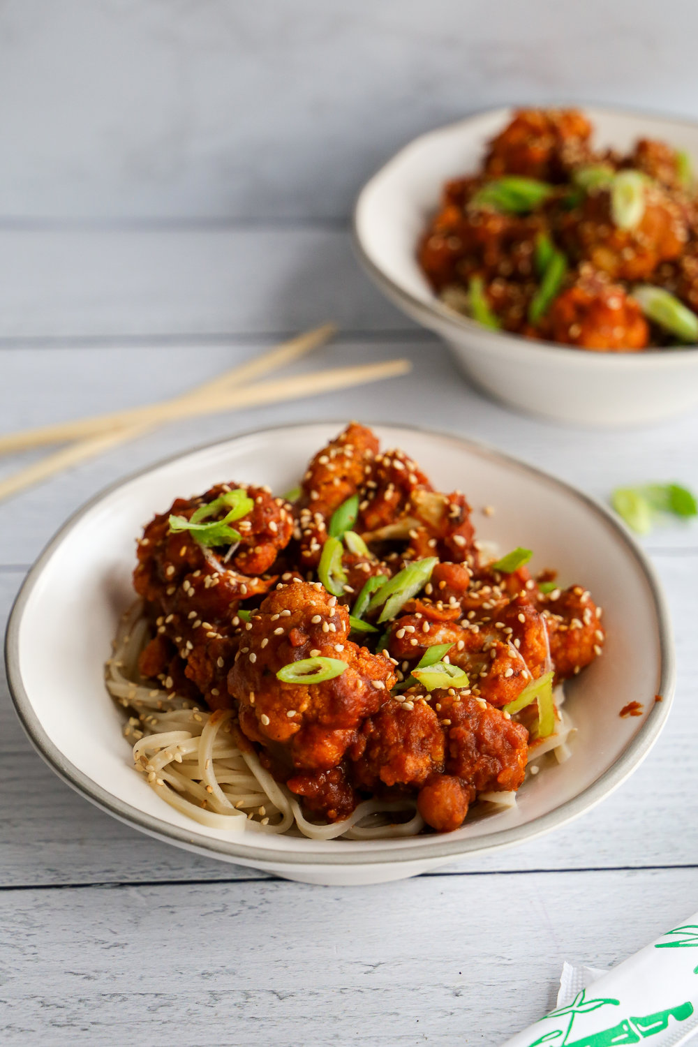 General Tso's Cauliflower and Good Omens