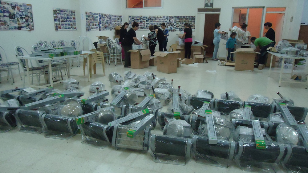 Winter heaters ready for distribution