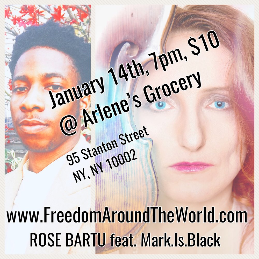 Get $10 tickets for  January 14th, 7pm @ Arlene's Groceries, 21+ HERE